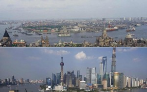 Shanghai's 26-year mega-city transformation