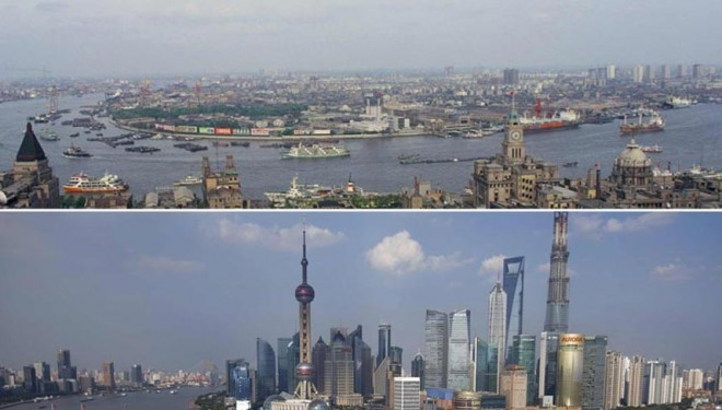 Shanghai's 26-year mega-city transformation – Telegraph.co.uk