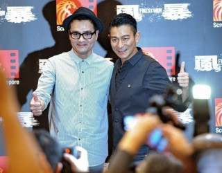 """Hong Kong action thriller """"Firestorm"""" makes world premiere in S'pore – Channel News Asia"""