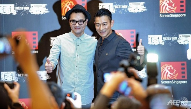 "Hong Kong action thriller ""Firestorm"" makes world premiere in S'pore – Channel News Asia"