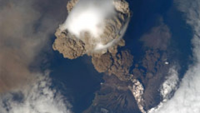 Dazzling volcano eruption seen from space – Zee News